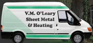 V.M. O'Leary Sheet Metal & Heating Van